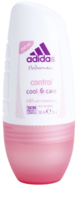 Adidas Control  Cool & Care deodorant Roll-on para mulheres