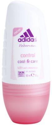 Adidas Control  Cool & Care дезодорант кульковий для жінок