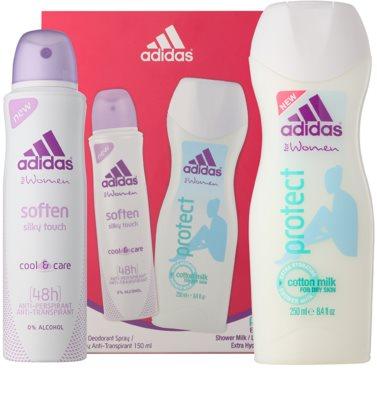 Adidas Soften Cool & Care coffret presente