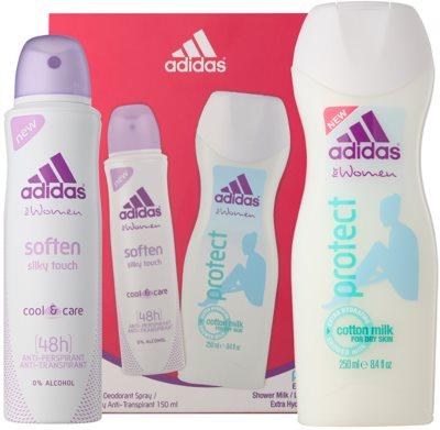 Adidas Soften Cool & Care dárková sada
