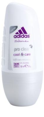 Adidas Pro Clear Cool & Care deodorant roll-on pentru femei