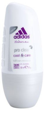 Adidas Pro Clear Cool & Care desodorante roll-on para mujer