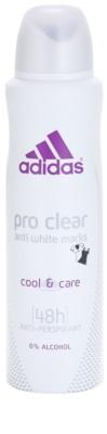 Adidas Pro Clear Cool & Care deospray pentru femei