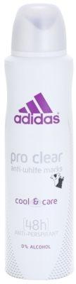 Adidas Pro Clear Cool & Care desodorante en spray para mujer