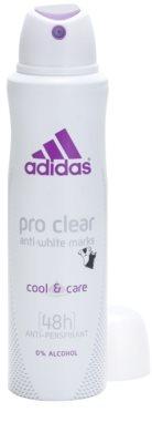 Adidas Pro Clear Cool & Care deospray pentru femei 1