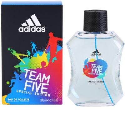 Adidas Team Five toaletna voda za moške