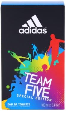 Adidas Team Five Eau de Toilette für Herren 4