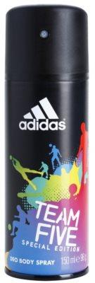 Adidas Team Five deodorant Spray para homens
