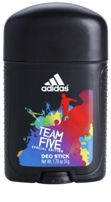 Adidas Team Five desodorizante em stick para homens
