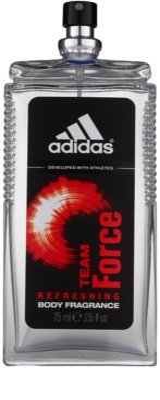 Adidas Team Force spray corporal para hombre