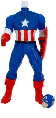 Admiranda Avengers Captain America 3D pěna do koupele a sprchový gel 2v1 pro děti 1