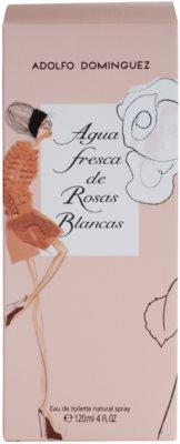 Adolfo Dominguez Agua Fresca de Rosas Blancas Eau de Toilette für Damen 4