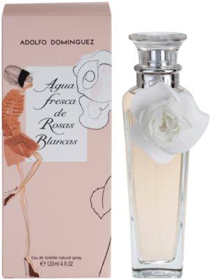 Adolfo Dominguez Agua Fresca de Rosas Blancas Eau de Toilette für Damen
