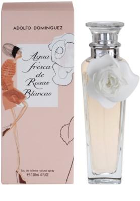 Adolfo Dominguez Agua Fresca de Rosas Blancas Eau de Toilette pentru femei