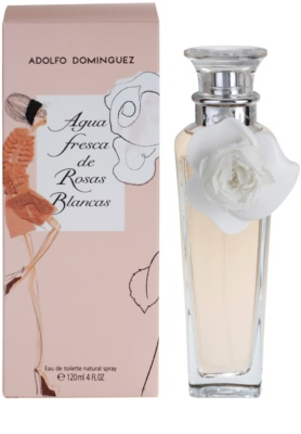 Adolfo Dominguez Agua Fresca de Rosas Blancas woda toaletowa dla kobiet