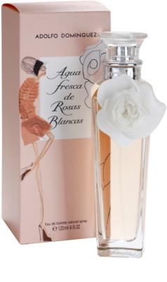 Adolfo Dominguez Agua Fresca de Rosas Blancas Eau de Toilette für Damen 1