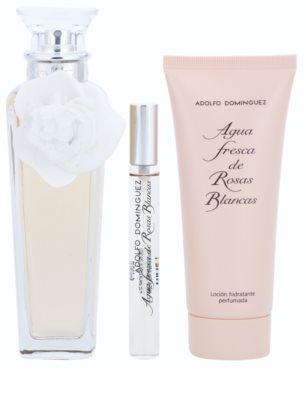 Adolfo Dominguez Agua Fresca de Rosas Blancas set cadou 2