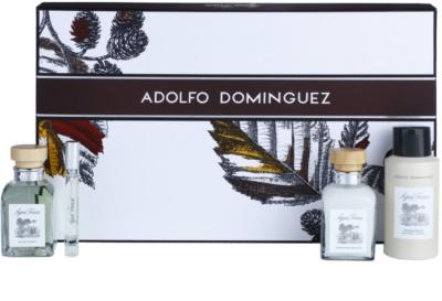 Adolfo Dominguez Agua Fresca for Men lote de regalo