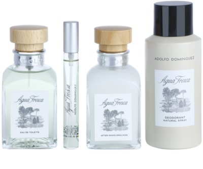Adolfo Dominguez Agua Fresca for Men set cadou 2