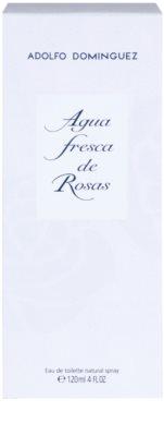 Adolfo Dominguez Agua Fresca de Rosas Eau de Toilette für Damen 4