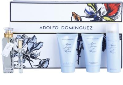 Adolfo Dominguez Agua Fresca de Rosas set cadou