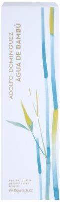 Adolfo Dominguez Agua de Bambu Eau de Toilette pentru femei 1