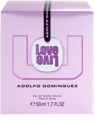 Adolfo Dominguez U Love Live eau de toilette nőknek 4
