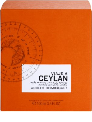 Adolfo Dominguez Viaje a Ceylan Eau de Toilette für Herren 4