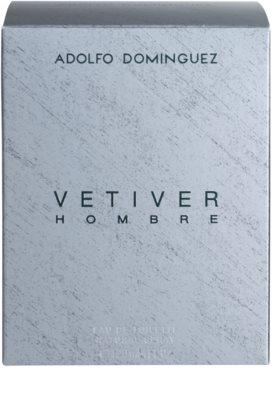 Adolfo Dominguez Vetiver Hombre Eau de Toilette für Herren 4