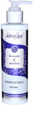 Adria-Spa Lavender & Olive мляко за тяло
