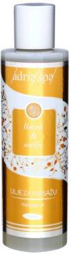 Adria-Spa Lemon & Immortelle ulei de masaj