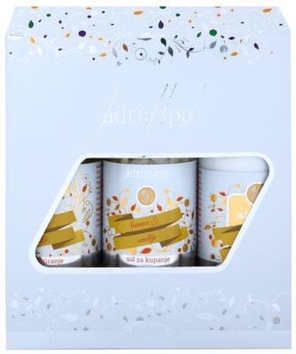Adria-Spa Lemon & Immortelle козметичен пакет  II.