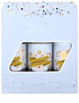 Adria-Spa Lemon & Immortelle kosmetická sada II.