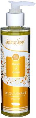 Adria-Spa Lemon & Immortelle gel de ducha revitalizante
