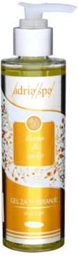 Adria-Spa Lemon & Immortelle gel de duche com efeito revitalizante
