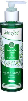 Adria-Spa Lemongrass & Orange освіжаючий гель для душа