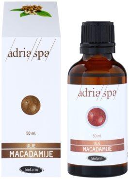 Adria-Spa Natural Oil aceite de macadamia para dar brillo y suavidad al cabello 1
