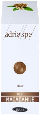 Adria-Spa Natural Oil aceite de macadamia para dar brillo y suavidad al cabello 2
