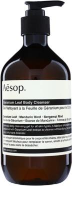 Aésop Body Geranium Leaf gel de ducha limpiador