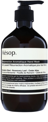 Aésop Body Resurrection Aromatique jabón líquido limpiador para manos