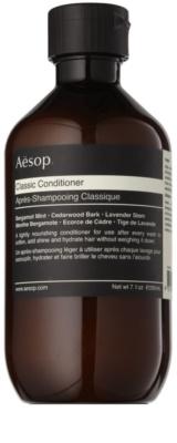 Aésop Hair Classic balsam hranitor pentru toate tipurile de par