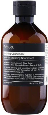 Aésop Hair Nurturing odżywka odżywiająca do włosów suchych, zniszczonych i po zabiegach chemicznych