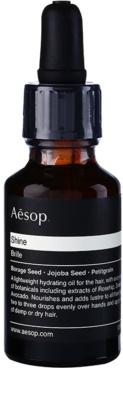 Aésop Hair Shine hydratační olej pro suché a nepoddajné vlasy