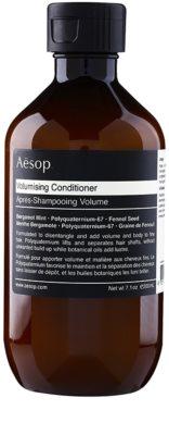 Aésop Hair Volumising odżywka nadająca objętość do włosów delikatnych