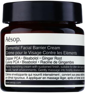 Aésop Skin Elemental crema intens hidratanta reface bariera protectoare a pielii
