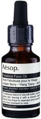Aésop Skin Fabulous olejek do twarzy intensywnie nawilżający