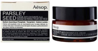 Aésop Skin Parsley Seed Crema pentru ochi antioxidanta 1