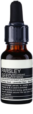 Aésop Skin Parsley Seed antioxidáns szérum a szem köré