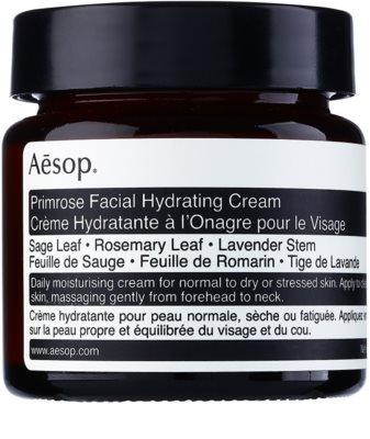 Aésop Skin Primrose Feuchtigkeitscreme für normale und trockene Haut