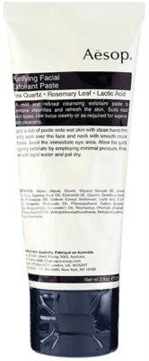 Aésop Skin Purifying delikatny krem złuszczający